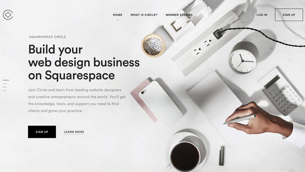 Squarespace esettanulmány