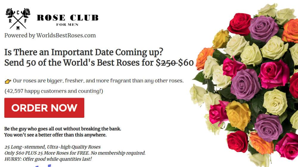 Rose Club for Men esettanulmány